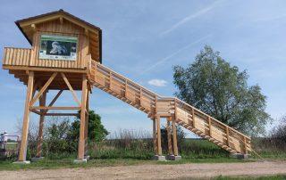 Hochstand Trappenschutzgebiet