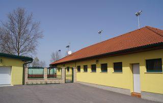Eingang zu den Tennisplätzen Tadten