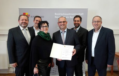 Angelobung Bürgermeister Willibald Goldenits