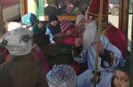 Der Nikolaus kommt nach Tadten