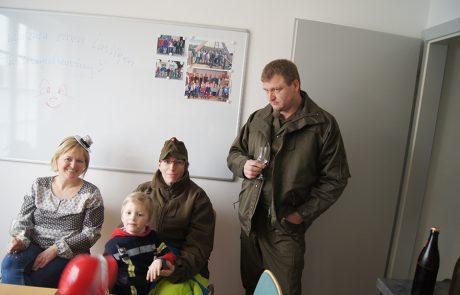 Faschingdienstag im Gemeindeamt Tadten